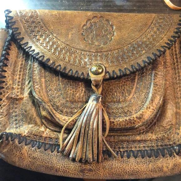 Patricia Nash Beaumont Vintage Distressed Bag
